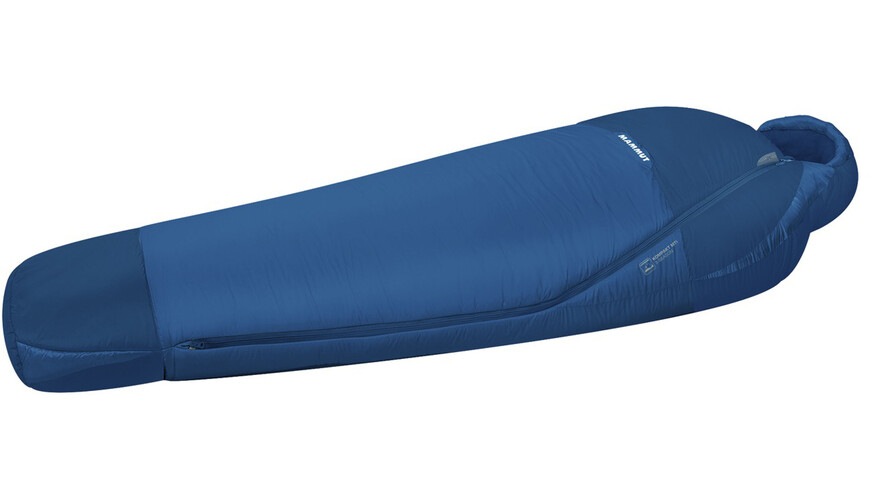 Mammut Kompakt MTI 3-Season Sleeping Bag 210cm dark cyan-cobalt